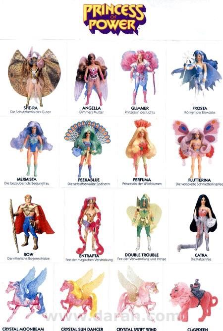 I loved She-Ra! I had all of these figures and the castle ...