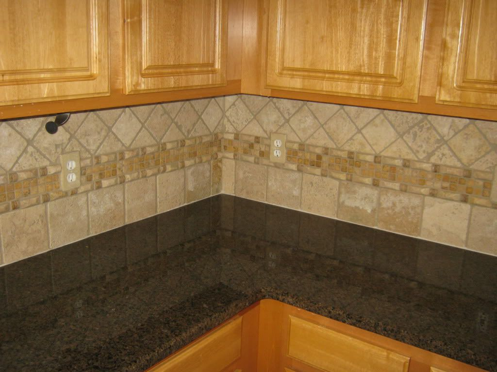 Travertine Tile Backsplash Start Your Tile Project Today Cabinets Granite Countertops Tile