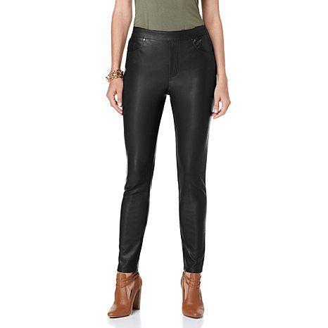 DG2 by Diane Gilman Women/'s Pull-on Comfort Waist Leggings Pant Small Size HSN