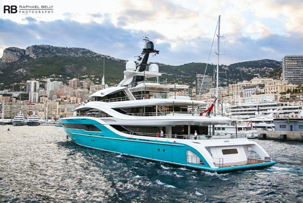 Turquoise Yacht Go Yacht Boat Design Boat