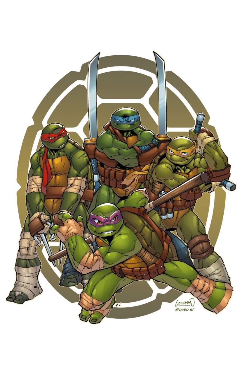 tmnt colours by alonso espinoza pixeltool on tmnt and ninja