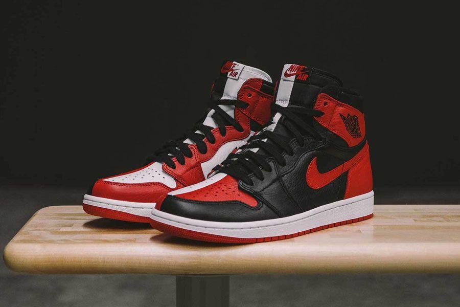 b7c5e631e887b2 Nike Air Jordan Retro I 1 High NRG Homage to Home Bred Chicago 861428-061