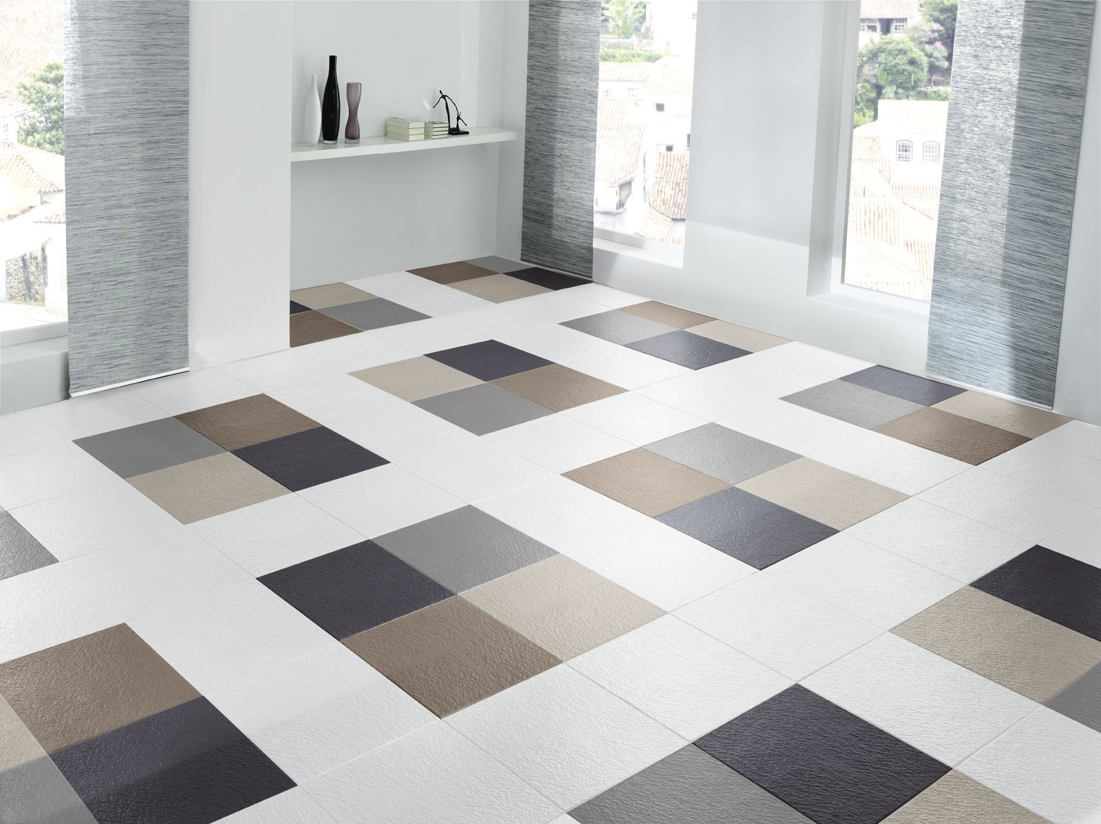 Pin by gorageous unique dcor on floors dcor pinterest types of flooring tiles flooring tiles in india have over the years gained popularity over the cemented and concrete flooring tiles are available in dailygadgetfo Images