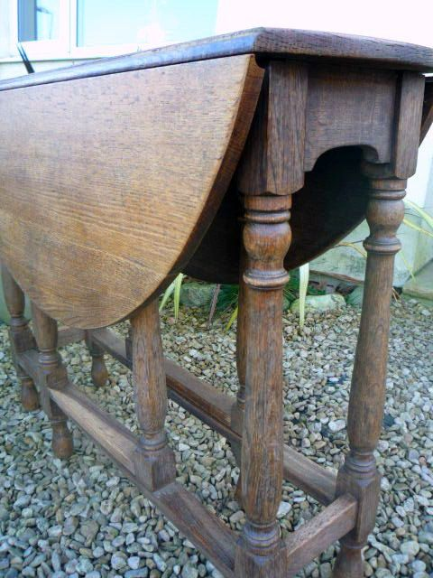 Oak Dining Table · Antique Oak Dining Table Oval Gateleg ...