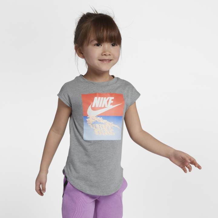 0224245b2 Nike Sunset Futura Little Kids' (Girls') T-Shirt | Cora Kennedy ...