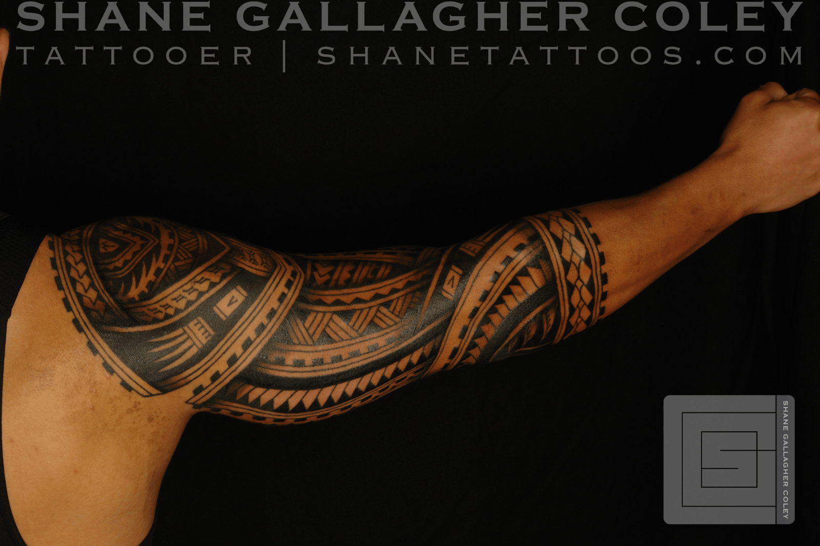 Maori Ring Tattoo: SHANE TATTOOS: Polynesian Sleeve Tatau Tattoo