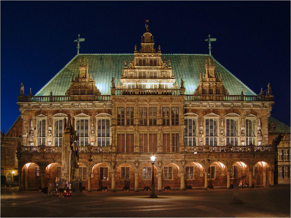 Das Rathaus zu Bremen von Stephan M. aus W.
