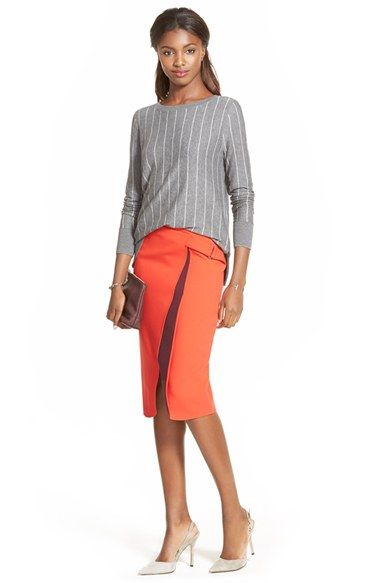 Halogen® Sweater & Skirt available at #Nordstrom