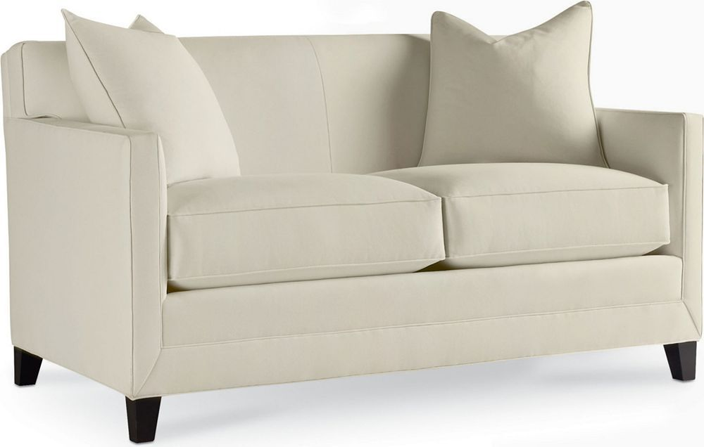 Awe Inspiring Barton Loveseat Straight Clean Lines Tight Back Track Bralicious Painted Fabric Chair Ideas Braliciousco