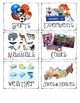 Basket Labels and Matching Book Labels for the Classroom