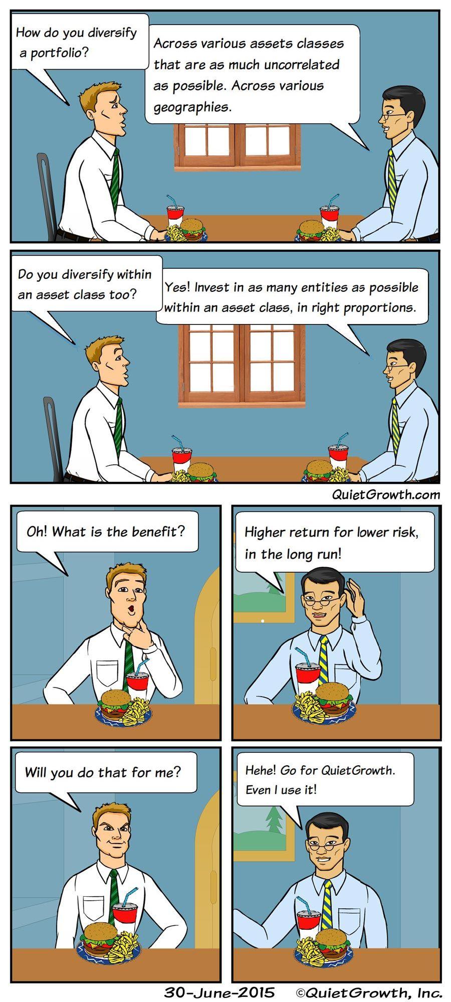 Cartoon 3: Portfolio diversification