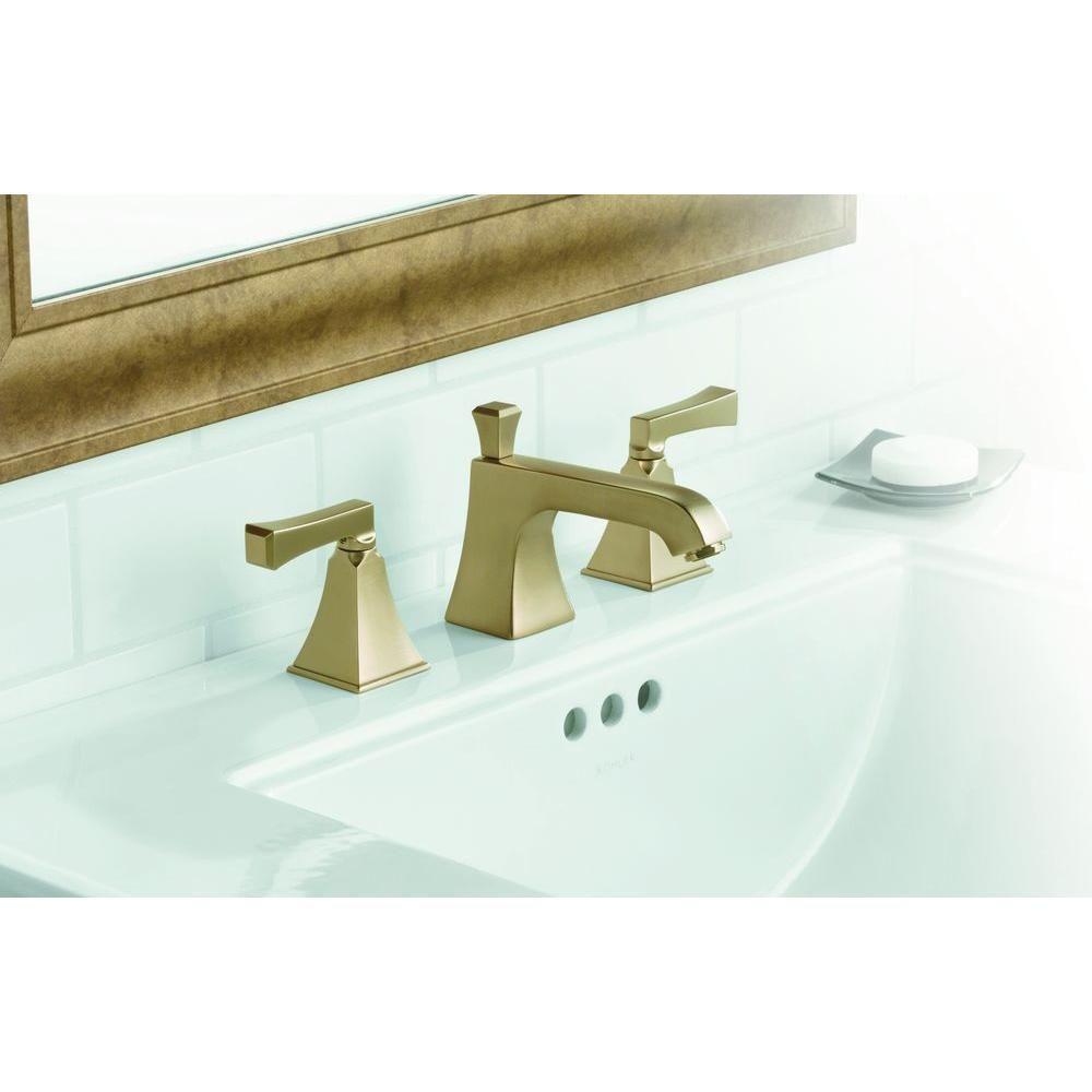 Kohler Memoirs Ceramic Pedestal Bathroom Sink With 8 In Centers