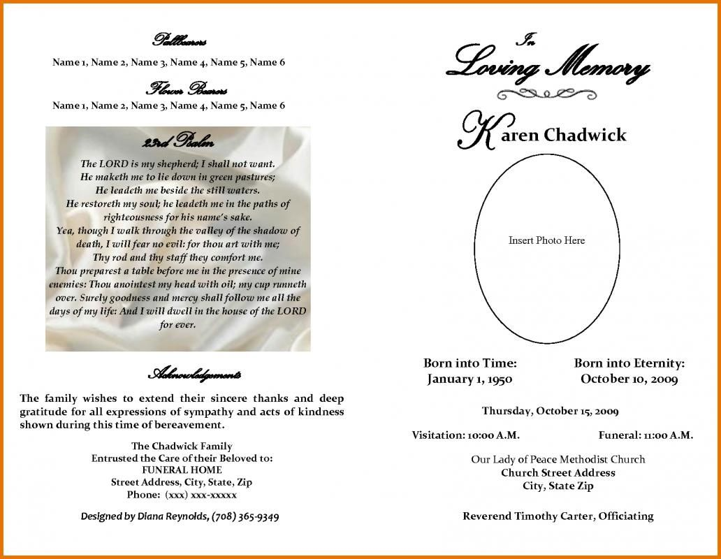 image about Free Printable Obituary Templates identified as Obituary Template Cost-free template Funeral software program template
