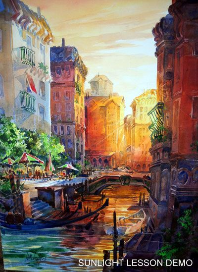 Workshop Paintings Watercolor Architecture Art Painting Painting