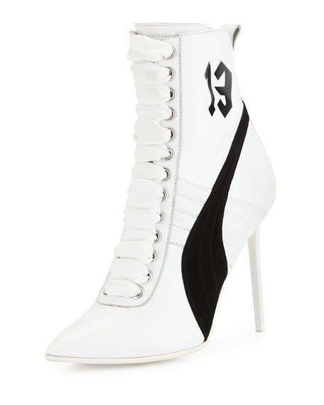 908c88316a0 Fenty Puma by Rihanna. Fenty Puma by Rihanna White High Heel ...
