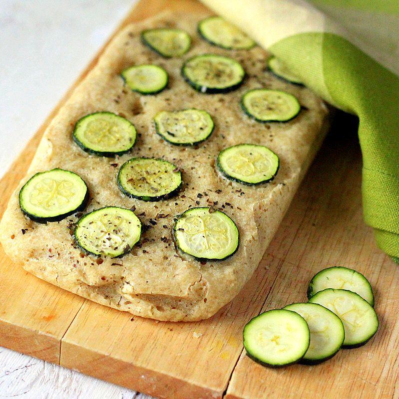 Gluten Free Zucchini Basil Focaccia Vegan Gf Gumfree Recipe