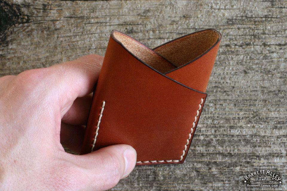 Revelation Wallet in Russet   Barrett Alley - Handmade in USA