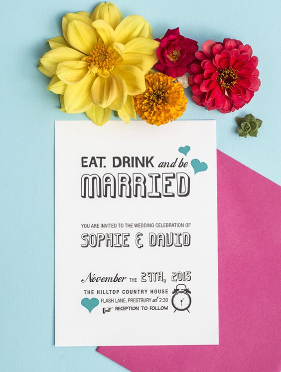 Wedding invitation wording one fab day guide invitation wording wondering how to phrase your wedding invites invitation wording can be formal and informal and the possibilities are endless read our guide to find out stopboris Image collections