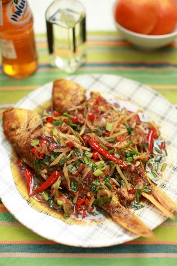 Masam Manis Ikan Kerisi Masak Sos Tiram Resep Masakan Pedas Resep Ikan Bakar Resep Masakan Malaysia