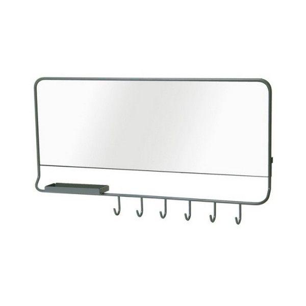 Miroir vide poches design leitmotiv mirror me with vide poche mural salle de bain - Vide poche mural salle de bain ...