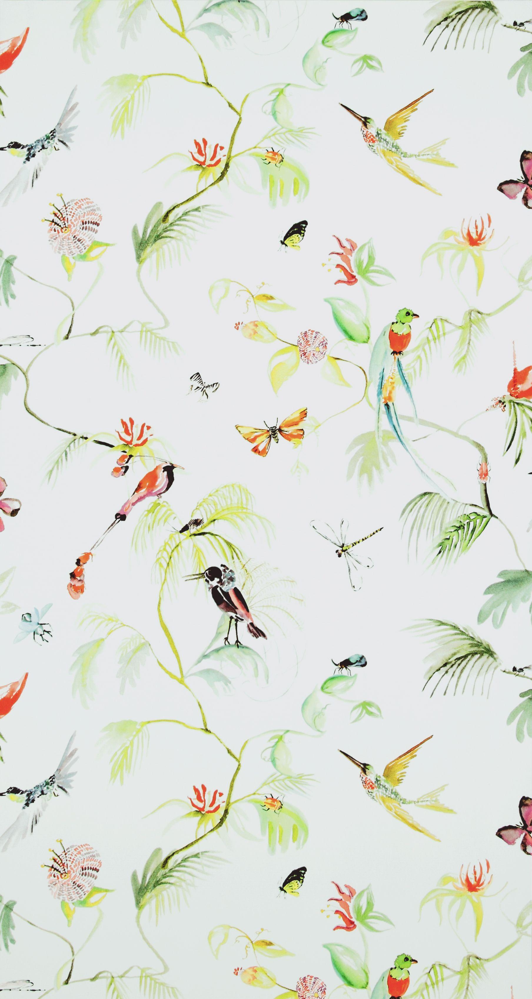 Pin Van Debby Menzo Op Slaapkamer Sharell Groen Behang Natuur Behang Behang