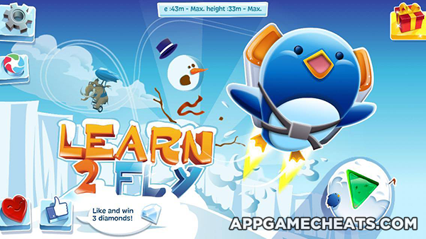 learn 2 fly cheats hack tips for ice diamonds money action