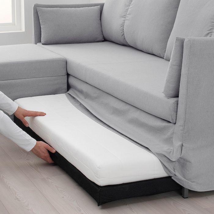Best Sandbacken Sleeper Sectional 3 Seat Frillestad Light 400 x 300