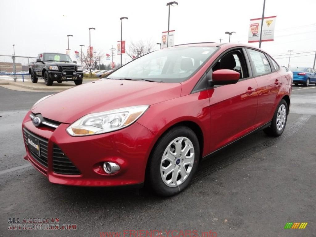 Awesome ford focus 2013 sedan red car images hd 2012 ford focus se sedan in red