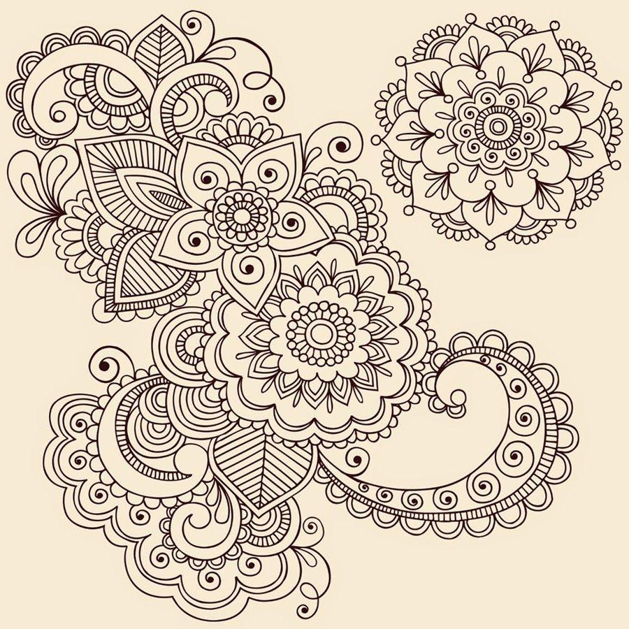 Mandalas Para Pintar: Flor de Otoño | Dibujos | Pinterest | Pintar ...