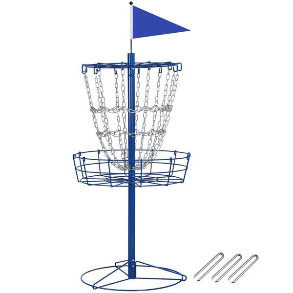 Disc Golf Goal Target Basket Practice Frisbee Game Cross Chain Outdoor Walmart Com Disc Golf Basket Disc Golf Portable Disc Golf Basket
