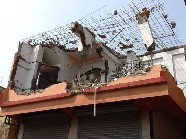 Destruction of a perfectly nice house by the Bombay Municipal Corporation  Destruction f31f4aa84