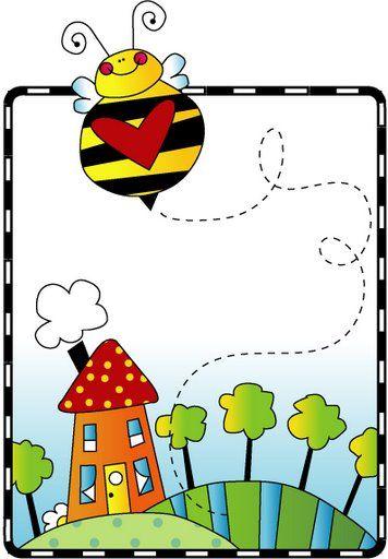 descargar | COISAS DE PRÉ ESCOLA | Pinterest | Clip art, Bees and ...