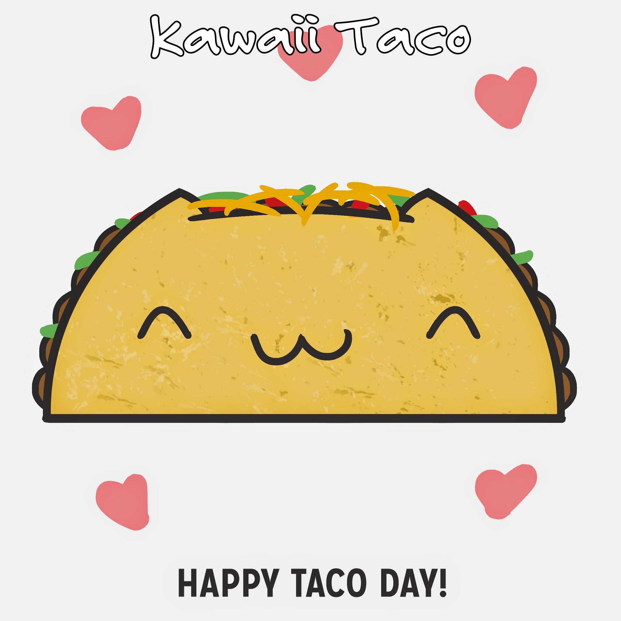 Kawaii Taco Png 2048 2048 Happy Taco Taco Drawing Tacos