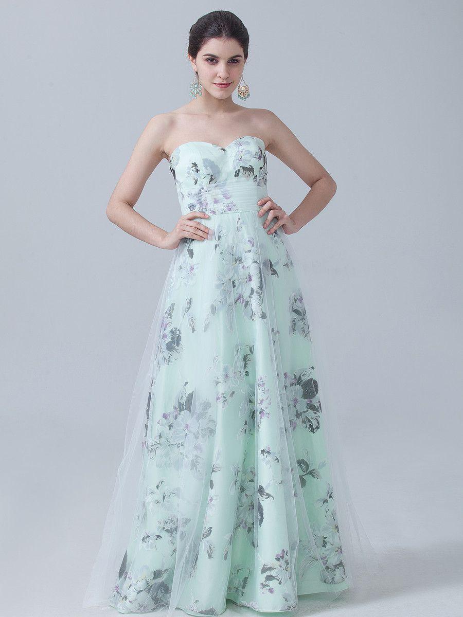 107ced28d49b8 Floral Print Stapless Dress | Bridesmaids Attire | Dresses, Designer ...