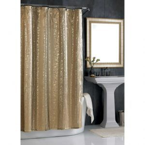 72 X 78 Long Shower Curtain Gold Shower Curtain Home Purple