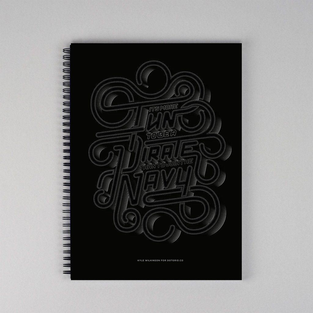 Steve Jobs 'Pirate' Limited Editon Dot Grid Book