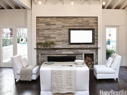 Image Result For Balancing An Offset Fireplace With Built Ins