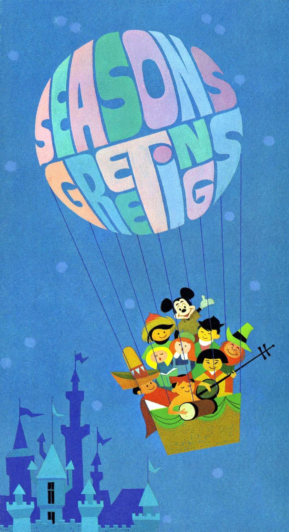 10 Truly Amazing Historic Disney Christmas Cards   I<3Disney ...