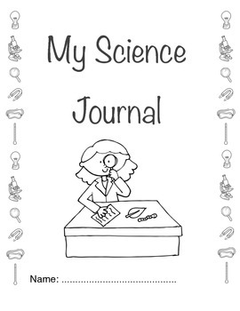 Science Journal Cover Page Journal Covers First Day Of School