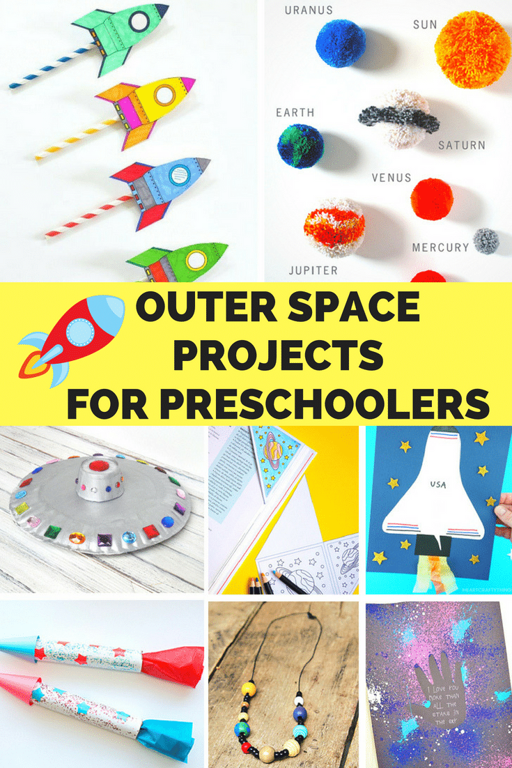 Outer Space Crafts For Preschoolers Space Crafts Outer Space