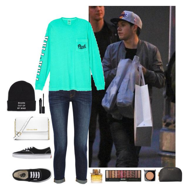 """""""Niall Horan #44"""" by ambere3love34 ❤ liked on Polyvore featuring Vans, Frame Denim, Victoria's Secret, MICHAEL Michael Kors, Smashbox, Burberry and Lancôme"""