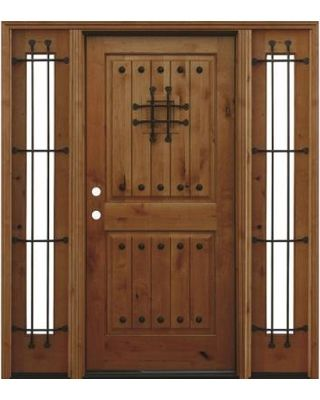 Doors With Glass Pacific Entries Doors 70in X80in Rustic 2 Panel V