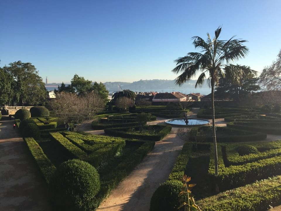 Garden in Belem near Lisbon
