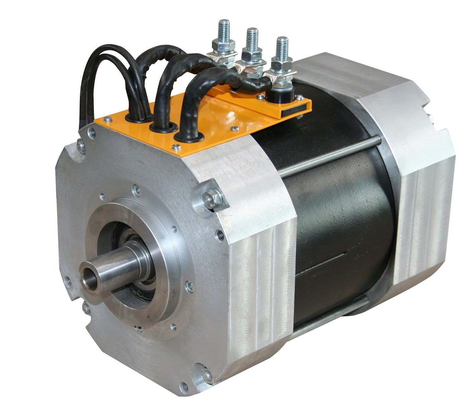 This Motor Is Designed To Run On 32 67vac Requires A 48 96vdc Battery Featuring 40kw With 550a Controller Of Peak