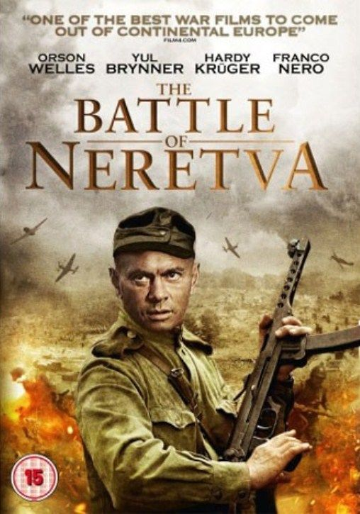 Bitka Na Neretvi 1969 With Images Classic Movie Posters War