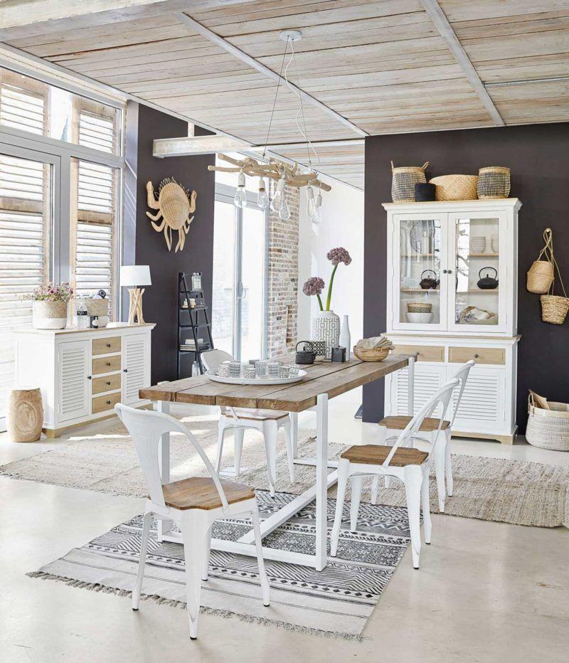 Chaise scandinave 17 modèles en bois pour la salle à