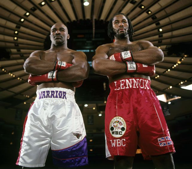 Evander Holyfield And Lennox Lewis Two Of My Favorites