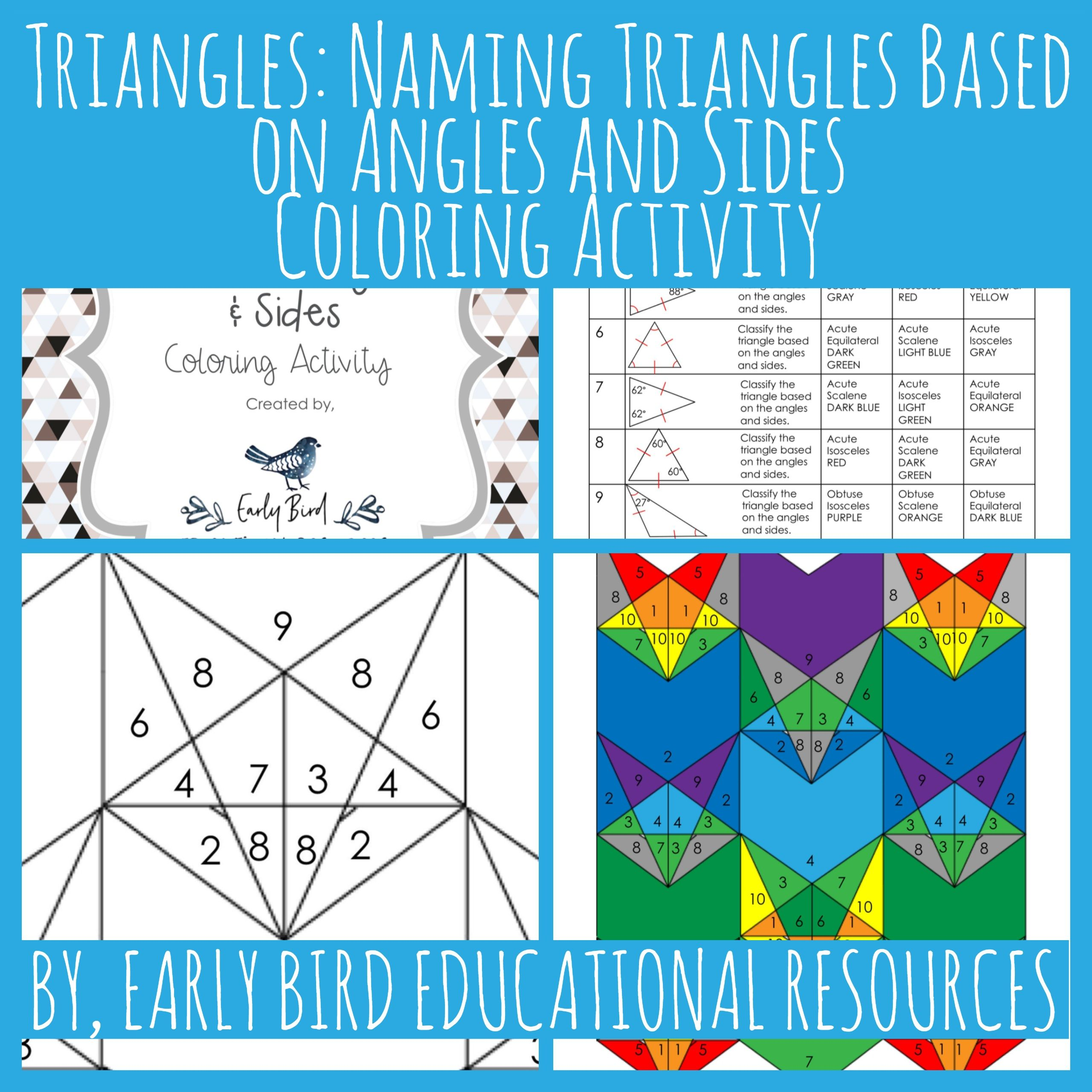 Triangles Naming Triangles Based On Angles And Sides