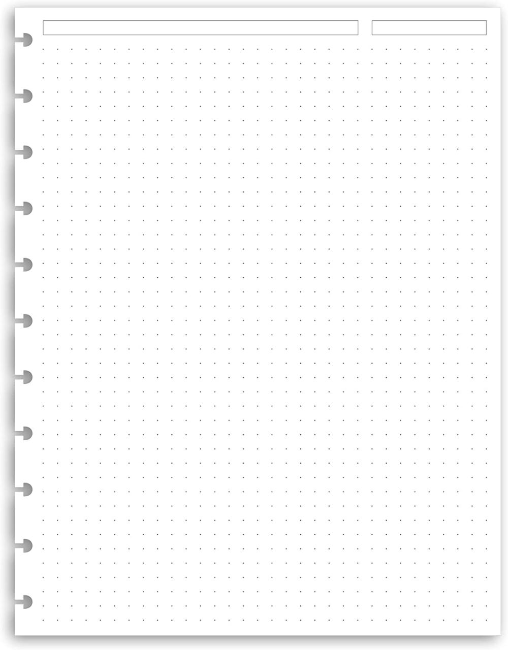 Amazon Com Eleven Discs Letter Ruled Sheets Premium Heavyweight Discbound Notebook Paper Refills Punched F In 2020 Grid Paper Notebook Paper Paper Background Design