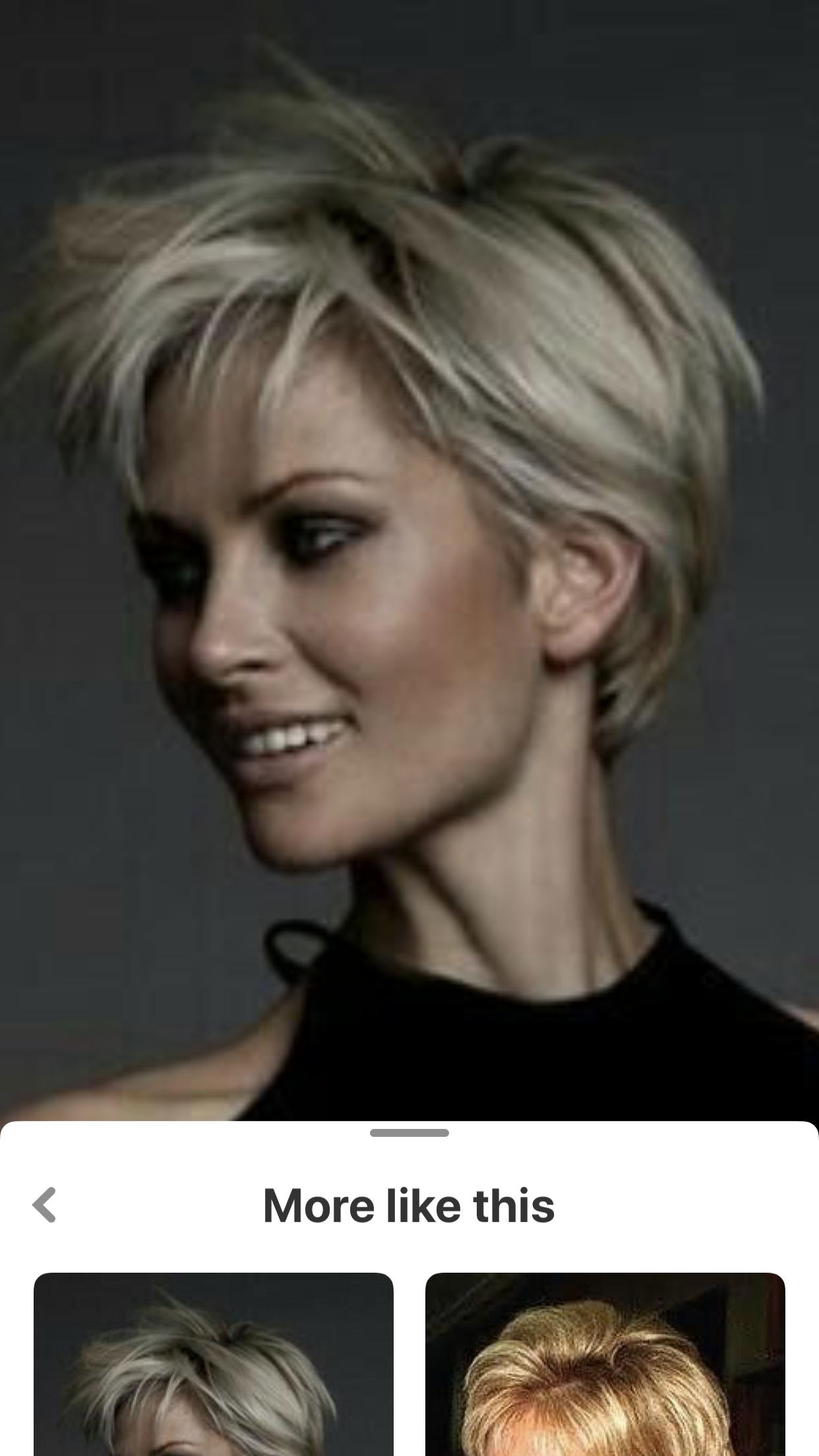 Frauen blond kurzhaarschnitt Kurzhaarschnitt Damen